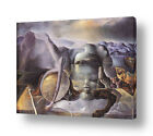 READY TO HANG CANVAS The Endless Enigma Face Salvador Dali For Living Room