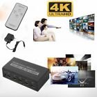 LOT 3/5 Port 1080P HDMI Selector Switcher Splitter Hub + Remote for PS3/4 HDTV Y