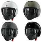 Shark Raw Drak Blank Motorcycle Helmet