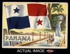 1956 Topps Flags of the World #22 Panama VG