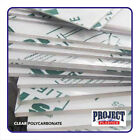 CLEAR POLYCARBONATE SHEET  LEXAN MAKROLON PALSUN U.V protected High Impact for sale  Colchester