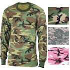 Kids Tactical Camo Long Sleeve T-Shirt Military Camouflage Crew-Neck Tee
