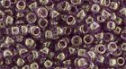 Japanese TOHO 8/0 Seed Beads,  #628,  Gold Luster - Pink Rose