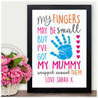 PERSONALISED Mother Mum Mummy Birthday Mother's Day Christmas Gift Print Present