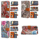 Flip Stand PU Leather Wallet Phone Case Cover Patterned For Samsung Note8 iPhone