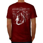 Lion King Beast Animal Men T-shirt Back NEW | Wellcoda
