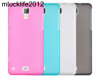 """Phone Case Silicon Matte TPU Comfortable Protector Back Cover For Hisense C20 5"""""""