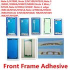 50x Original LCD Front Frame Adhesive Sticker Glue for Samsung Note 1 2 3 4 5 8