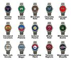 Pro Basketball Eastern Team Variety Logo Steel Sport Metal Analog Wrist Watches on eBay