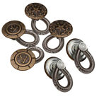 6Pcs Metal No Sew Elastic Spring Button Pant Jeans Waistband Extender