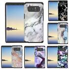designer notes - Marble Design Hybrid Case Dual Layer Protective Cover for Samsung Galaxy Note 8