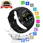 Waterproof Bluetooth Smart Wrist Watch PhoneMate SIM Slot GSM For Android Y1/USA