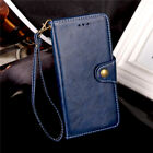 For LG Aristo/ MS210/ LV3 Luxury Retro Flip Stand Leather Wallet Card Cover Case