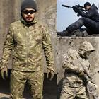 Men's Tactical Hunting Gear Outdoor Sports Hoodie Jacket and Pant For Airsoft Ca
