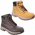 Stanley Pro Steel Toe Work Safety Boots Hiker (Wheat or Brown)
