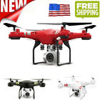 Transportable 2.4G Altitude Hold HD Camera Quadcopter RC Drone WiFi Live Helicopter