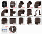 Polypipe 40mm Solvent Weld Waste Fittings in Brown