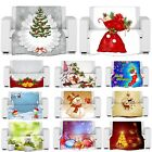 3D Digital Christmas Theme Photo Print Fleece Throw Blanket
