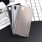 Phone Case Silicon Matte TPU Comfortable Protector Back Cover For Lenovo
