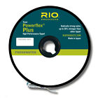 RIO Powerflex Plus Tippet 50 yard 0X,1X,2X,3X,4X,5X,6X,7X