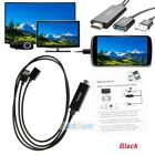 Mini USB MHL To HDMI 1080P TV Adapter Cable HD For Samsung Galaxy iPhone 6 7 8 X