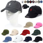 Polo RL Baseball Cap Mens Womens Adjustable Hat Sport Classic Embroideried Pony