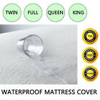 LOT Waterproof Twin Full King Queen Size Mattress ProtectorPad Bed Topper Cover