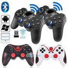 pc controller wireless - 2x Wireless Bluetooth Gamepad Game Controller For Android Phone TV Box Tablet PC