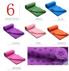 Non-slip Yoga Mat Anti-skid Eco-friendly Dance Gym Towel Microfiber Pilates Mat