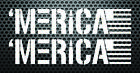 MERICA flag patriotic vinyl decal sticker America USA 2A Vet