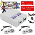 HDMI Super NES Mini SFC Classic Game Console Built in 621/400 Game +2 Controller