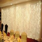 3*3m 304led Curtain Lights String Fairy Light Valentine's Day Party Decorations