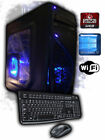 Custom AMD Quad-Core Gaming Computer Desktop PC System 3.7GHz 2TB 16GB 1TB 8GB