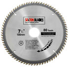 Saxton TCT Circular Wood Saw Blades 135mm to 305mm fits Bosch Dewalt Festool
