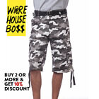 PROCLUB PRO CLUB MENS CASUAL CARGO SHORTS PLAID SHORTS PLAIN CAMO BDU ARMY SOLID <br/> *BUY 2 OR MORE &amp; GET 10% DISCOUNT* BUY WITH CONFIDENCE