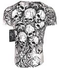 XTREME COUTURE by AFFLICTION Men T-Shirt THE ACCUSER Skull Biker MMA UFC S-4X$40 image