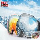 OTG Ski Goggles, Interchangeable Lens, 100% UV400 Protection, Anti-fog Windproof