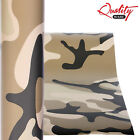 Desert Camo Vinyl Wrap / Matte Camouflage Decal Graphics / Air/Bubble Free UV+