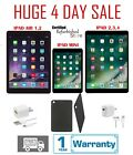 Apple iPad 2/3/4 Mini Air 16GB 32GB 64GB 128GB WiFi &amp; Cellular Silver *** Bundle <br/> Bundle: ✔1 Year Warranty ✔Free shipping ✔Charger ✔Case
