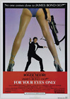 FOR YOUR EYES ONLY JAMES BOND 007 ROGER MOORE VINTAGE CLASSIC MOVIE  POSTER £34.99 GBP on eBay