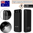 100000mah LCD Power Bank Portable External Battery Charger For Mobile & Tablet