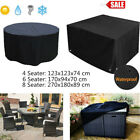 Outdoor Patio Furniture Cover  4/6/8 Seater Garden Table Chair Shelter Protector