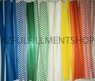 """1000 Twist Ties 4"""" Length Plastic Coated Paper No Rip Cellophane Assorted Colors"""