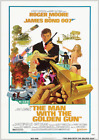 THE MAN WITH THE GOLDEN GUN JAMES BOND 007 ROGER MOORE VINTAGE CLASSIC   POSTER £24.99 GBP on eBay