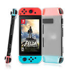 Shockproof Bag Clear TPU Case Screen Protector Charger Cable for Nintendo Switch