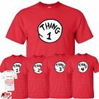 Thing 1 2 3 4 Mens TShirt Inspried World Book Day Fancy Costume Gift Present