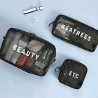 Clear Travel Wash Bag Holder Pouch Set Kit Organizer Cosmetic Makeup Toiletry