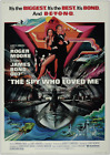 THE SPY WHO LOVED ME JAMES BOND 007 ROGER MOORE VINTAGE CLASSIC MOVIE POSTER £34.99 GBP on eBay