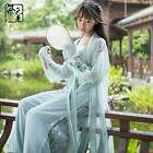 Dress Skirt Ancient Chinese Hanfu Loose Fashion Dress Women Girl Flower Spring