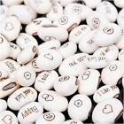 20/50/100Pcs White Bean Seeds Magic Gift Plant Growing Message Word Love DLUS